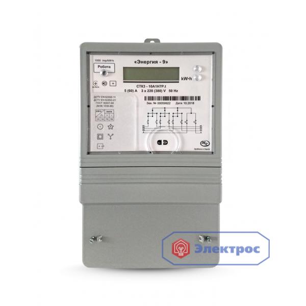 Электросчетчик CTK3-10A1H9P.t 10(100)A 3Ф многотарифный