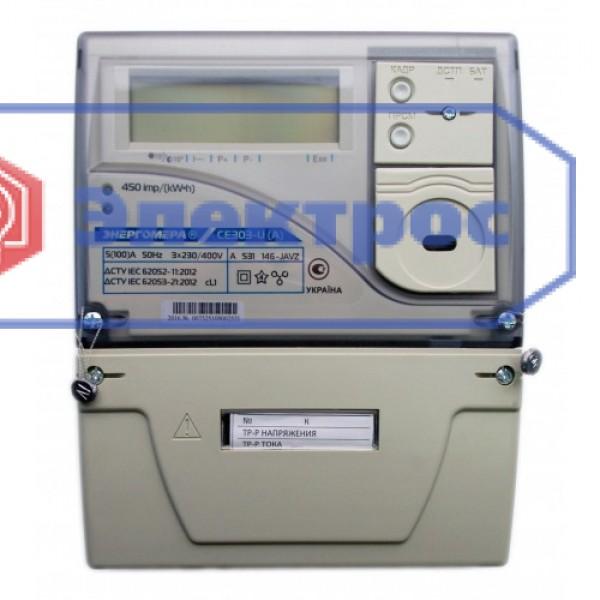 Электросчетчик CE303-U A S31 146-JAVZ 5(100)A 3Ф многотарифный