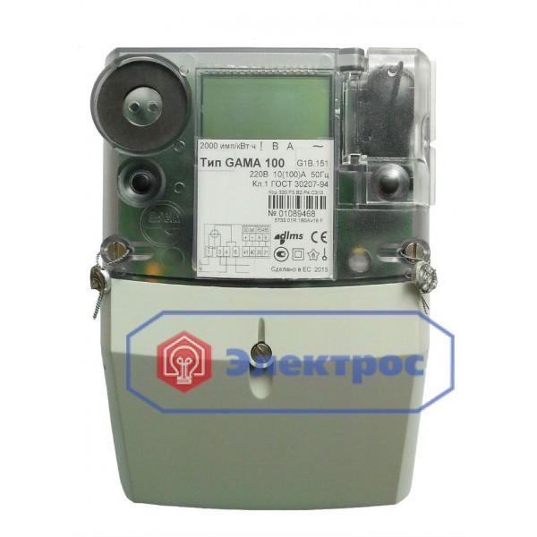 Электросчетчик GAMA 100 G1B.154