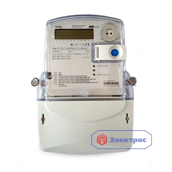 Электросчетчик ISKRA MT174-D1 5(85)A 3Ф многотарифный