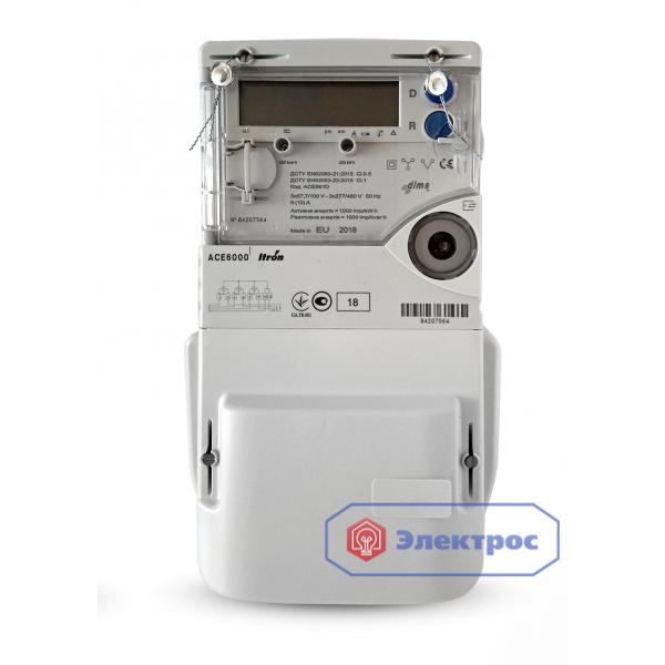 Электросчетчик Itron ACE 6000 5(10)А к.т. 0,5s