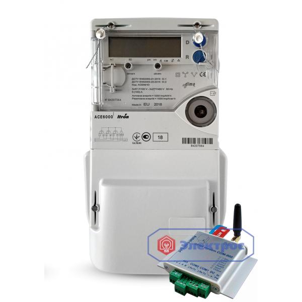 Комплект ACE 6000 5(100)А и COM-900 под зелёный тариф