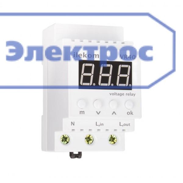 Реле напряжения Ilekom VR-40