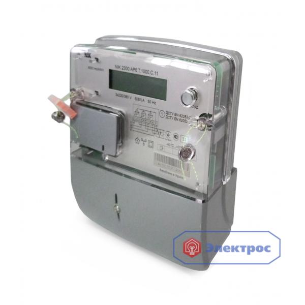 Электросчетчик NIK 2300 AP6T.1000.С.11 5(80)A 3Ф многотарифный