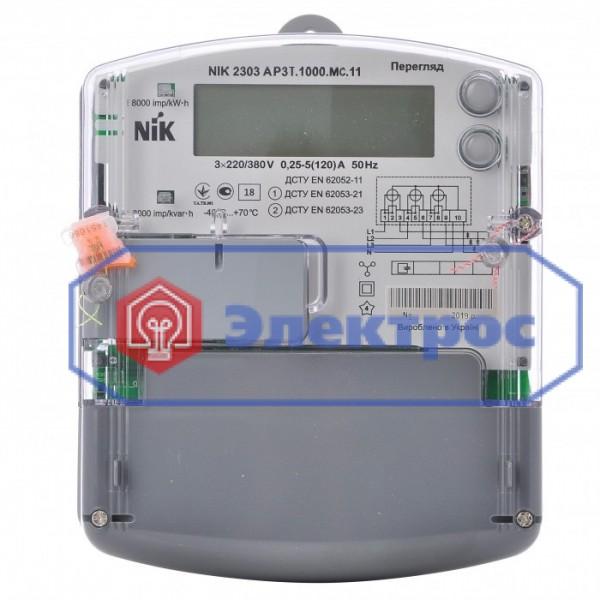 Электросчетчик NIK 2303 AP3T.1000.MC.11 5(120)A 3ф многотарифный