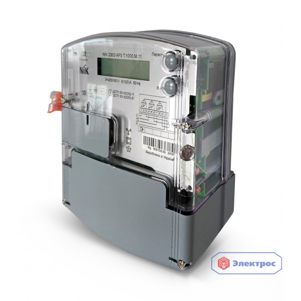 Электросчетчик NIK 2303 ATT.1000.M.11 5(10)A 3ф многотарифный