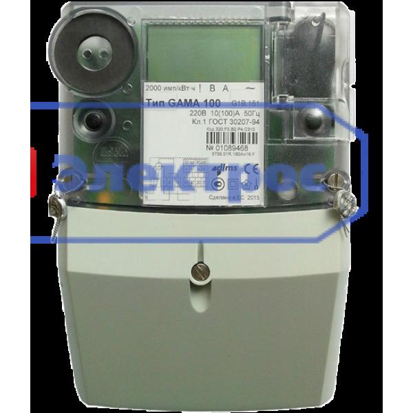 Электросчетчик GAMA 100 G1B 164.220.F3 для Зеленого тарифа